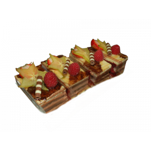 Mille feuille aux fruits